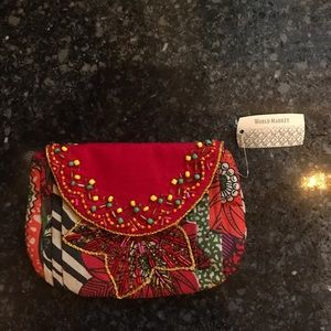Floral pouch/wallet